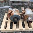 Two 31/2 inch Cowl mufflers