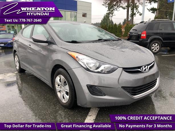 2013 Hyundai Elantra L L, Touch Screen, Bluetooth, Trade-in, One owner