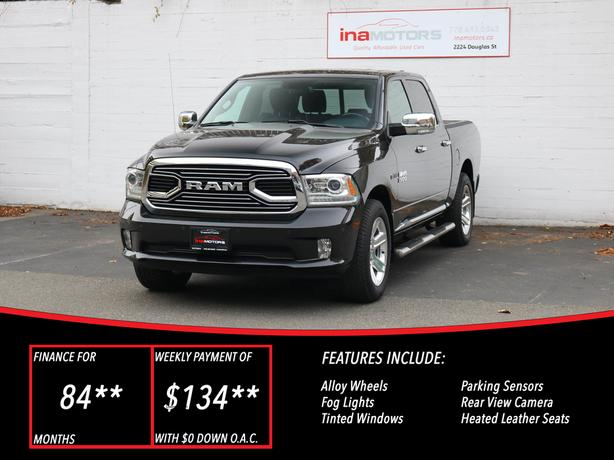 2016 Ram 1500 Limited 4WD ECODIESEL - LOCAL BC TRUCK - NO ACCIDENTS!