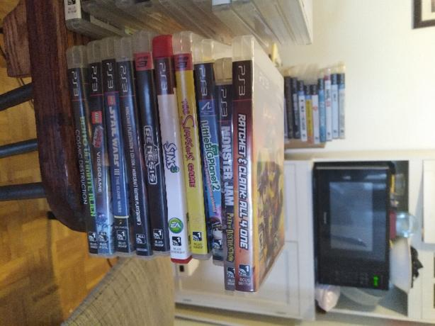 PS3 and 130 games