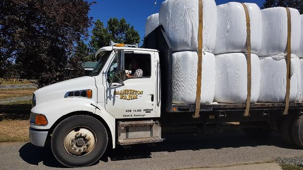 Haylage delivered to Parksville and surrounding towns.
