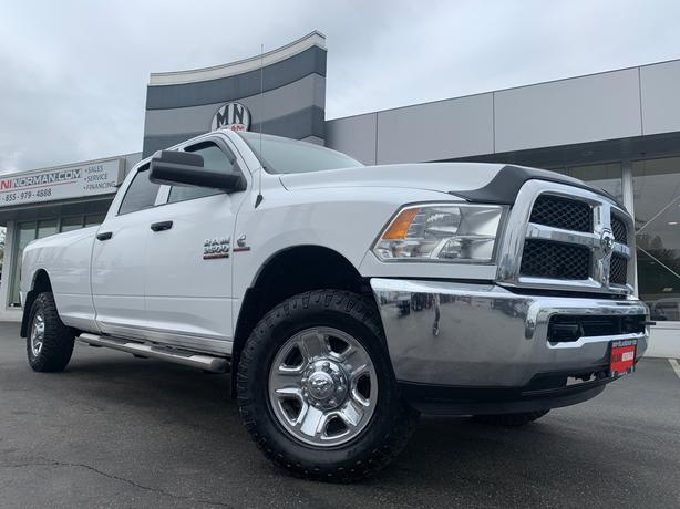 Used 2018 Ram 3500 TRADESMAN 4WD LB DIESEL LEATHER HEATED REAR CAMERA Truck Crew