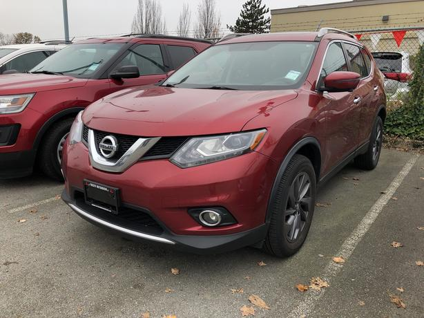 2016 Nissan Rogue Leather-Navi-Back-up Camera AWD