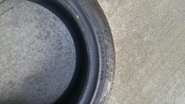 225/45R17 All Season tire