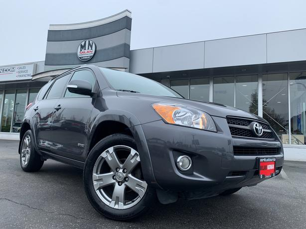 Used 2012 Toyota RAV4 SPORT 4WD LEATHER SUNROOF CAMERA 145KM SUV