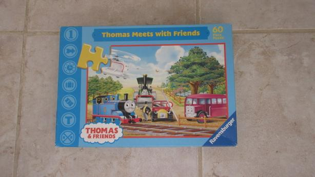 Various Thomas the train puzzles & games