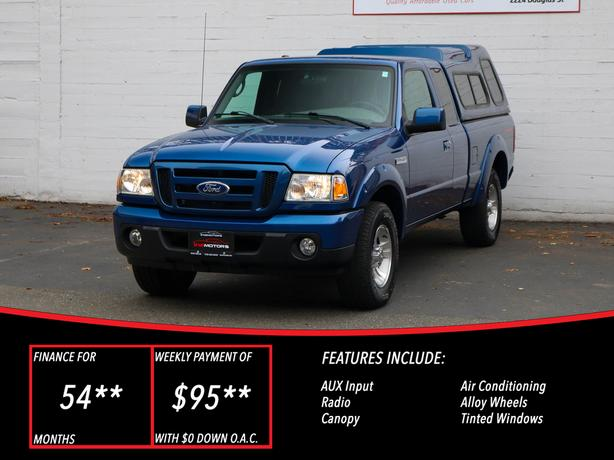 2011 Ford Ranger Sport  - LOCAL BC TRUCK - NO ACCIDENTS!