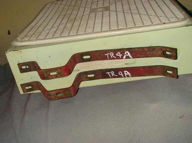TRIUMPH TR4 A (ONLY) FRONT BUMPER BRACKETS