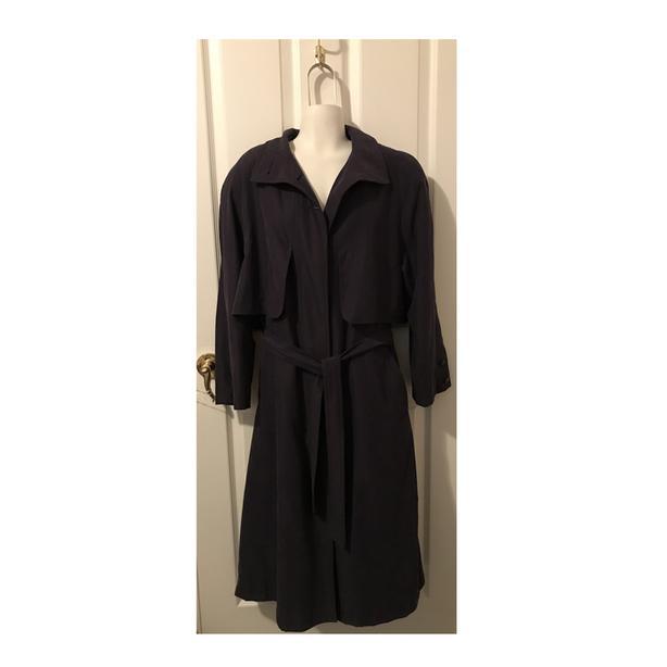 Vintage LUBA Women's Trench Coat
