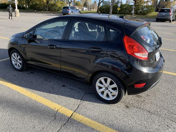 2011 Ford Fiesta automatic with winter tires on rims