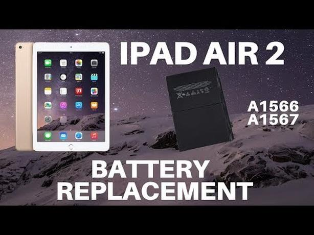 Get your iPad Air 2 Battery replaced with 6 months warranty