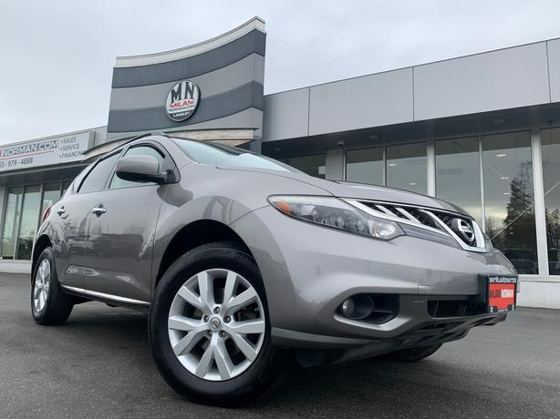 Used 2012 Nissan Murano SL AWD LEATHER SUNROOF CAMERA 168KM SUV