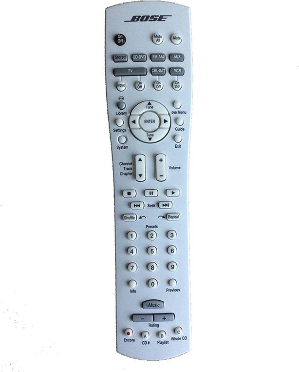 Bose RC38T1-27 Remote for BOSE Lifestyle and AV Media Center