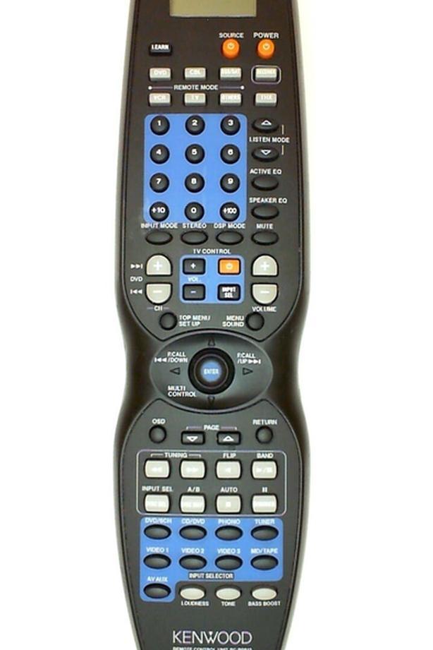 Kenwood RC-R0813 Audio-Video Remote Control