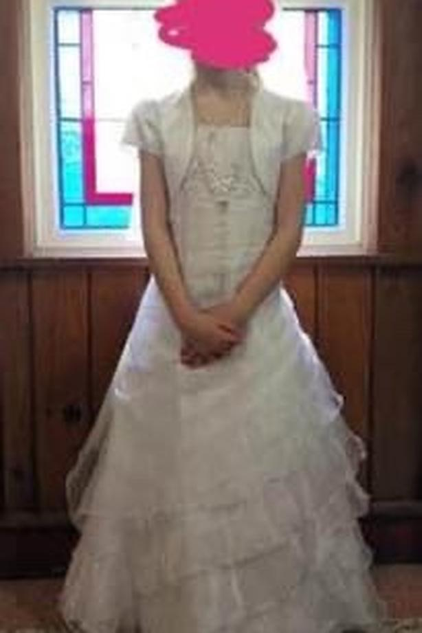 first communion/flower girl gown