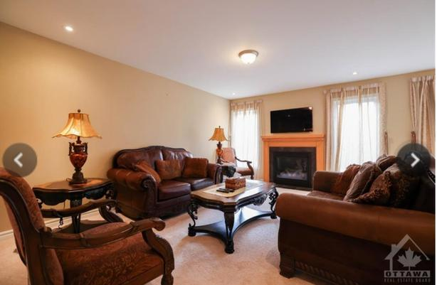 Living room set with matching coffee & accent tables