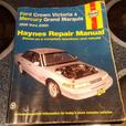 Haynes Repair Manual Ford Crown Victoria Grand Marquis Vehicles 1988 thru 2000