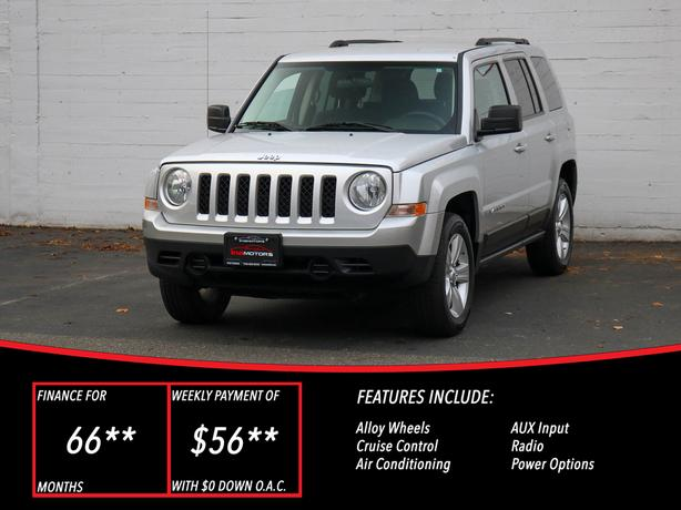 2012 Jeep Patriot North 4X4 - LOCAL BC SUV!