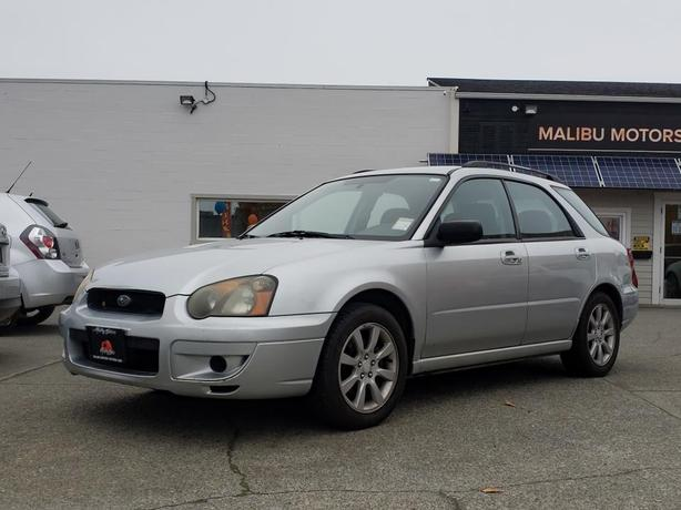2005 Subaru Impreza 5dr Wgn 2.5 RS Manual