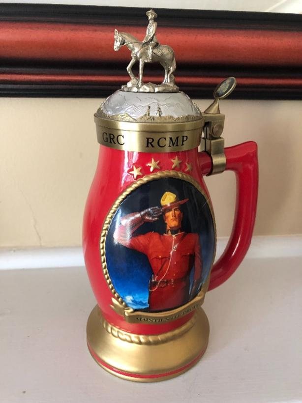 RCMP Collector Stein