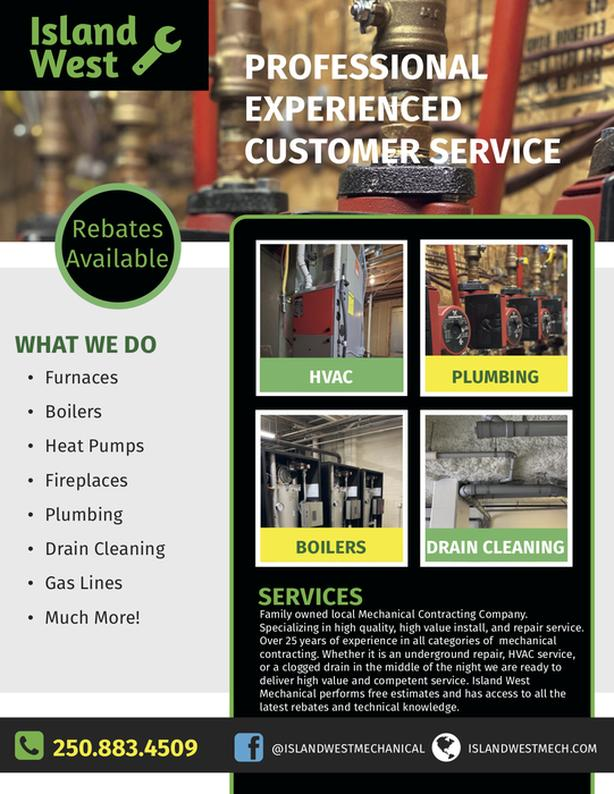 Plumbing, Heating, Gas Fitting, Mechanical Services