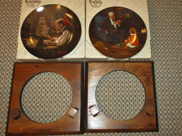 "'Norman Rockwell"" Collector Plates"