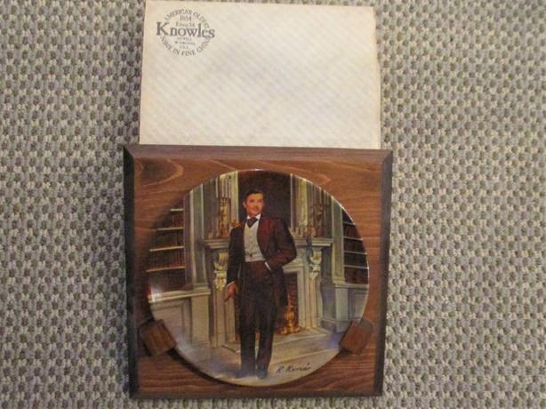 """""""Rhett Butler"""" Collector Plate"""