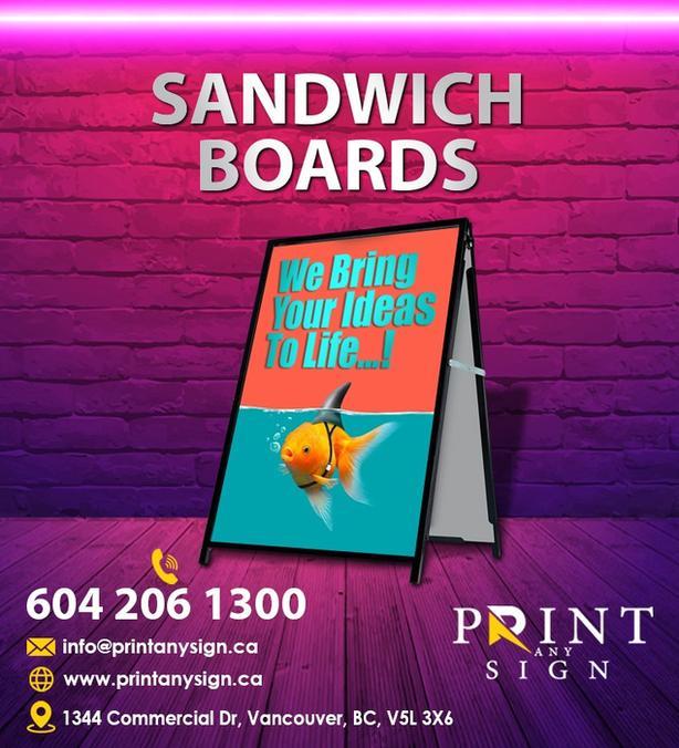 Sandwich Board Printing