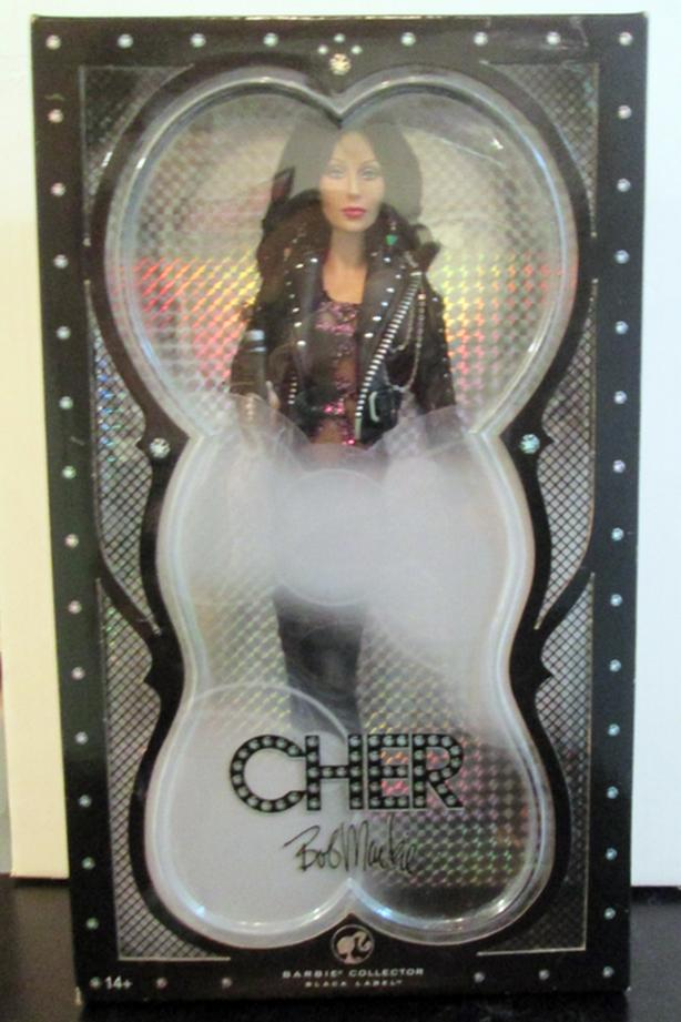 "CHER BARBIE ""COLLECTOR BLACK LABEL"" BY BOB MACKIE"