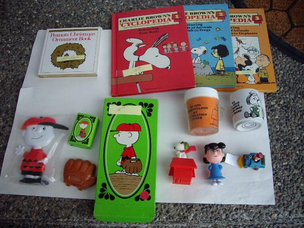CHARLIE BROWN/LUCY/PEANUTS ITEMS