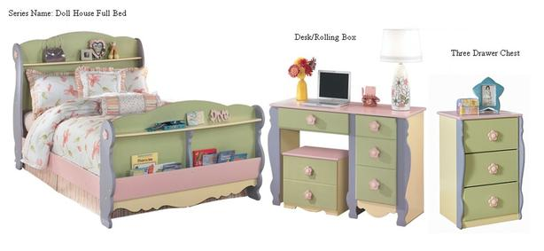 Doll House Bedroom set by Ashley