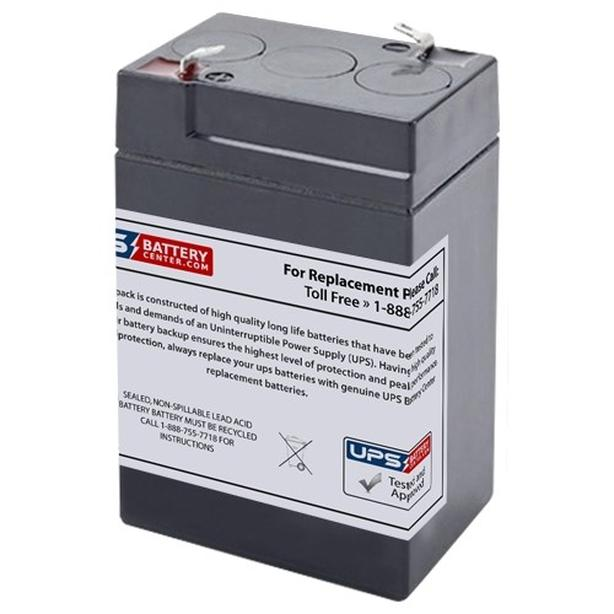 New 6V 5AH Seal lead Acid SLA Battery