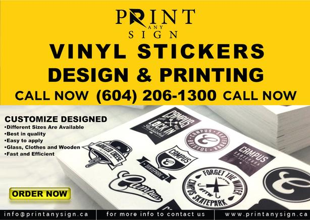 Stickers & Floor Decals Printing & Customizing