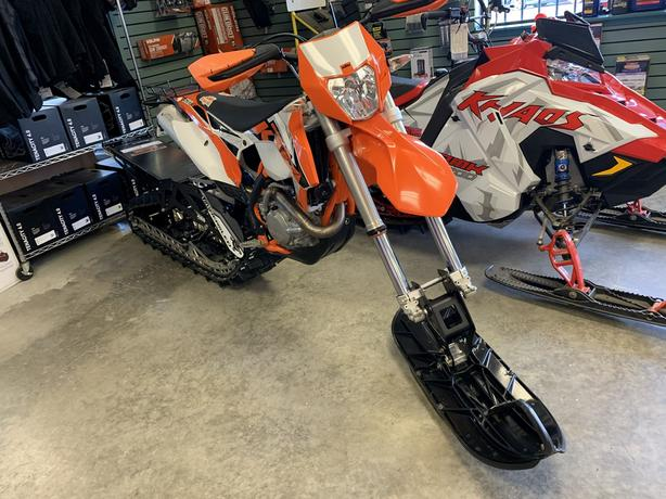 2019 TIMBERSLED ARO 137 with 2016 KTM 500 EXC