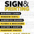 Business Card Printing & designing