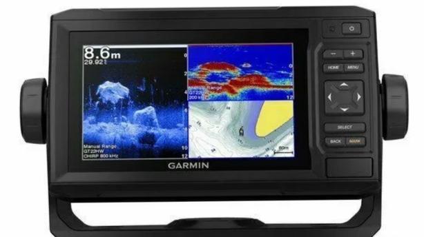 GARMIN ECHOMAP PLUS 65CV CHARTPLOTTER/ SONAR, PORTABLE FISHING KIT