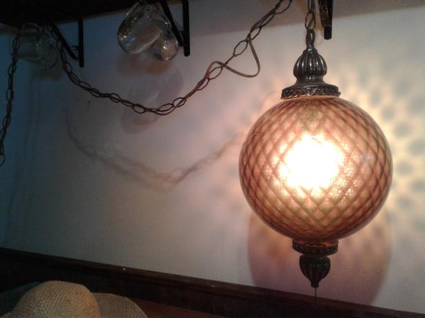 Retro hanging lamp