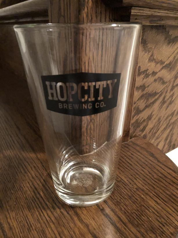 10 x Hopcity Pint Size Beer / Draught Glasses