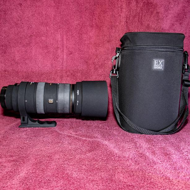 Sigma 80-400mm zoom lens for Canon EF with 1.4 Teleconverter