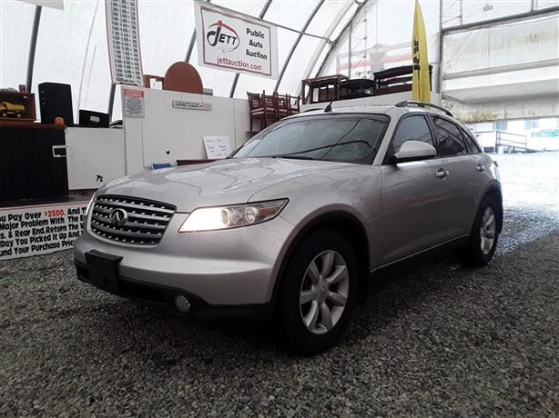 2004 INFINITI FX35 LIVE FOR AUCTION!