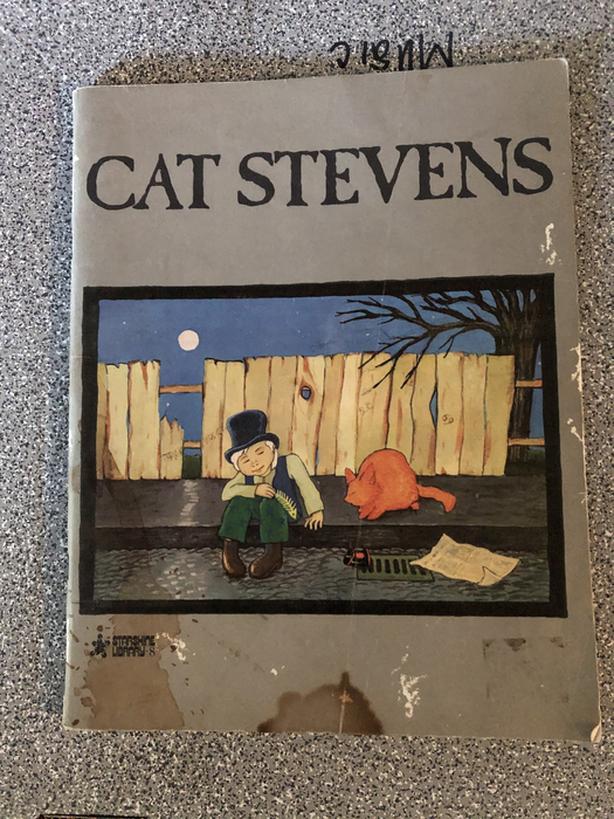 Cat Stevens song book