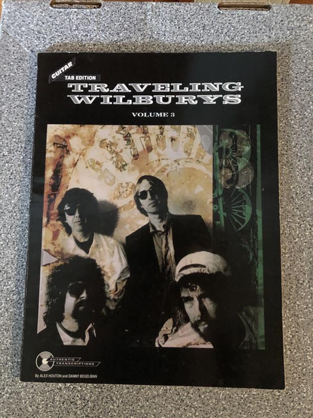 Travelling Willburys song book