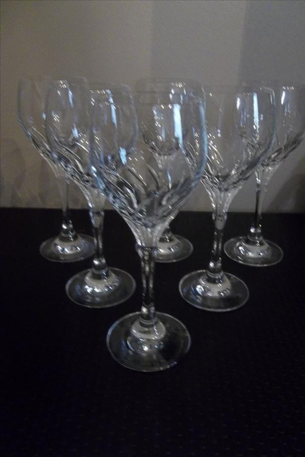 Crystal Stemmed Wine Glass