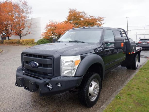 2012 Ford F-450 SD 6 Foot Flat Deck Dually Crew Cab DRW 4WD
