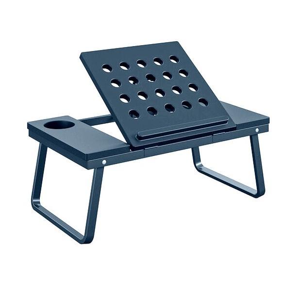 COSCO Folding Lap Laptop Table Desk Tray - Navy