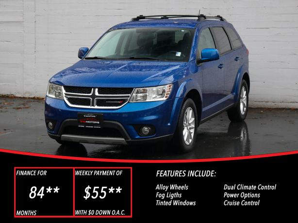 2015 Dodge Journey SXT - LOCAL BC SUV - NO ACCIDENTS!