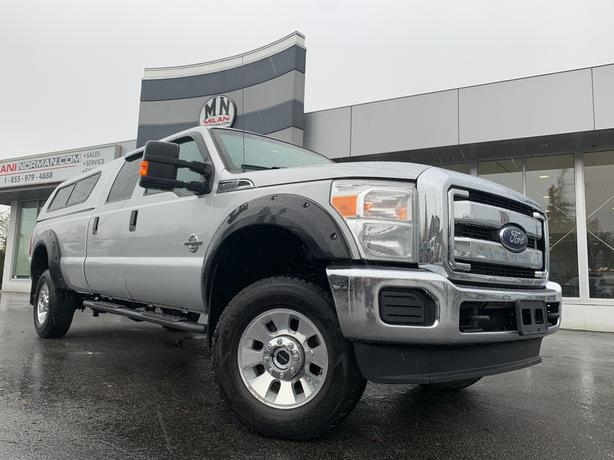 Used 2014 Ford F-350 XLT 4WD LB DIESEL CANOPY TUNED DELETED Truck Crew Cab