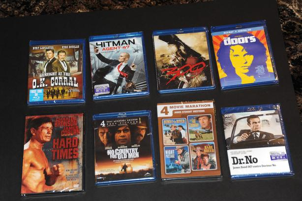 Blu Ray/DVD Collection – 27 New Sealed, 33 Used