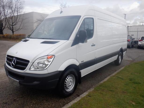 2013 Mercedes-Benz Sprinter 2500 Diesel High Roof 170-inch Wheelbase Cargo Van