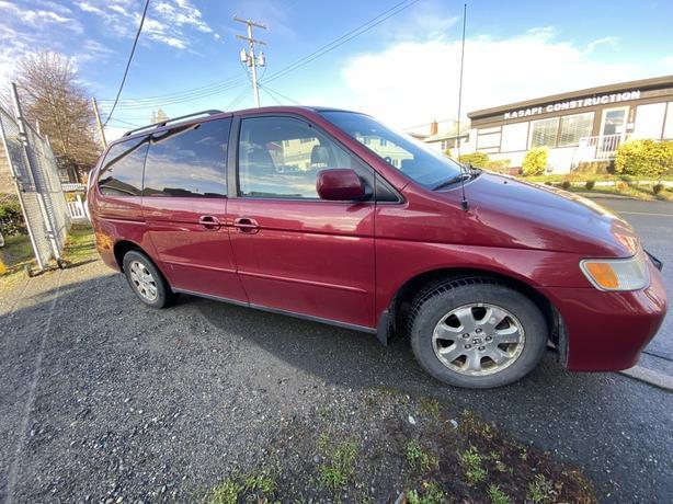 2003 Honda Odyssey 5dr EX w/Leather